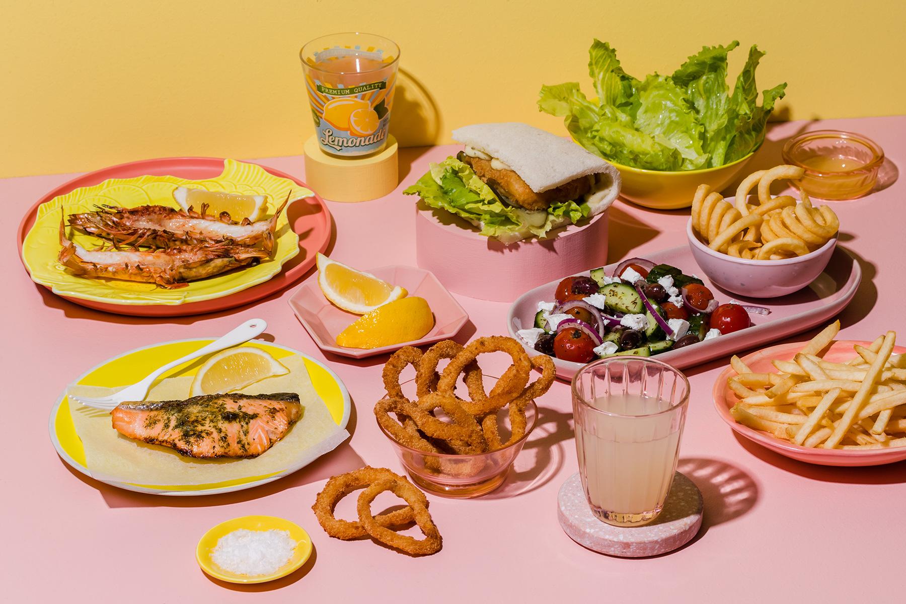 Fish & Lemonade